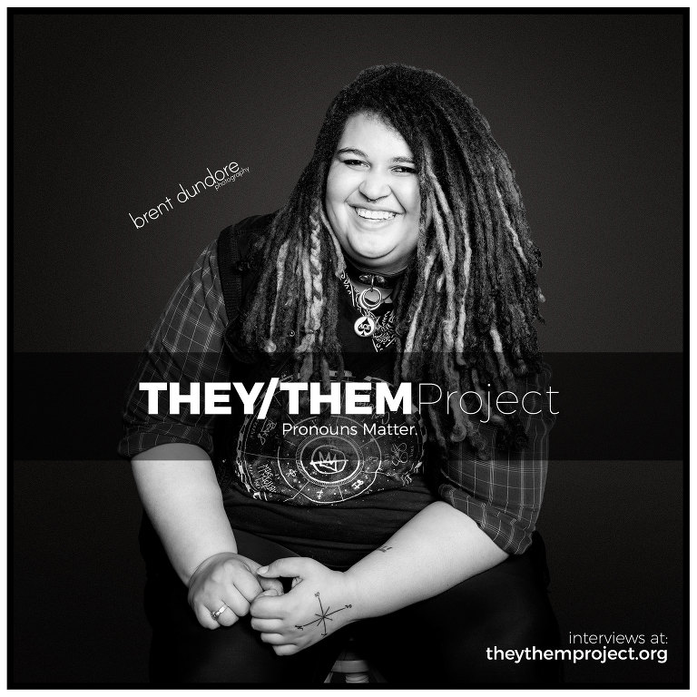 They/Them Project - Riley - Brent Dundore photography