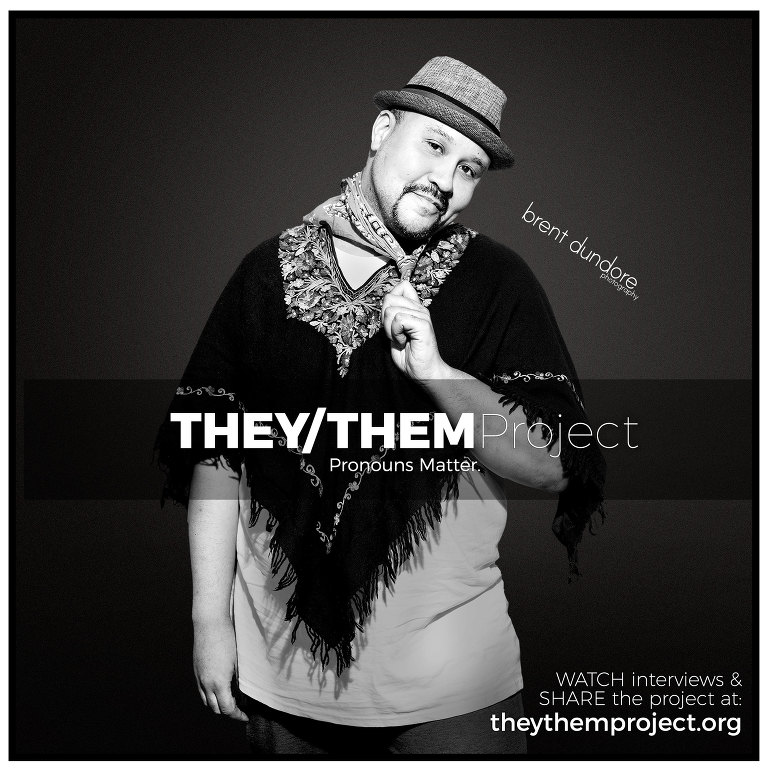 Thaddeaus - They/Them Project - Hannah - Brent Dundore photography
