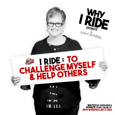 Lori - Why I Ride Project - Brent Dundore Photography