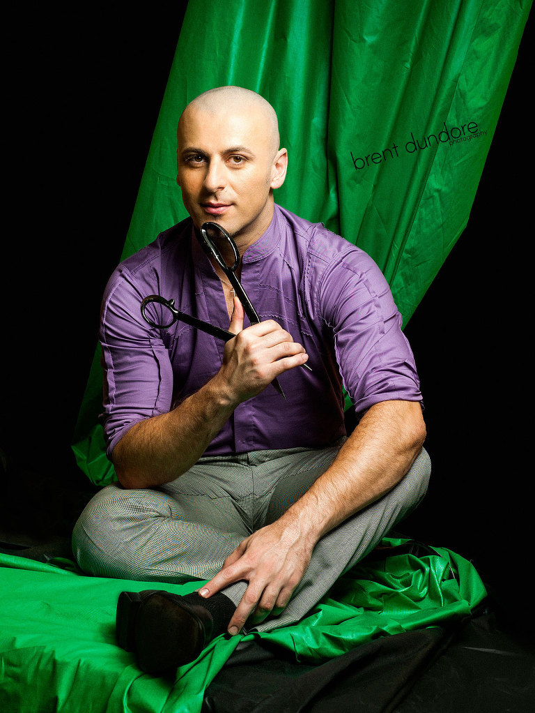 Rami Kashou of Project Runway by Brent Dundore Photography
