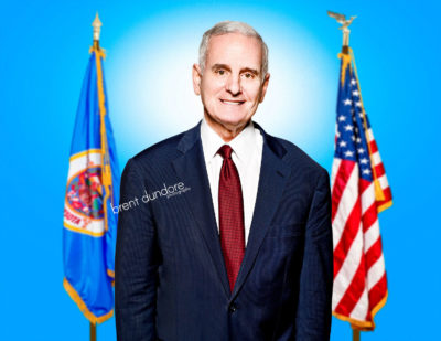 Governor Mark Dayton by Brent Dundore Photography