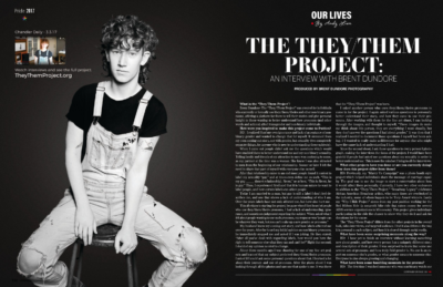 They/Them Project - Lavender Magazine - Brent Dundore Photography