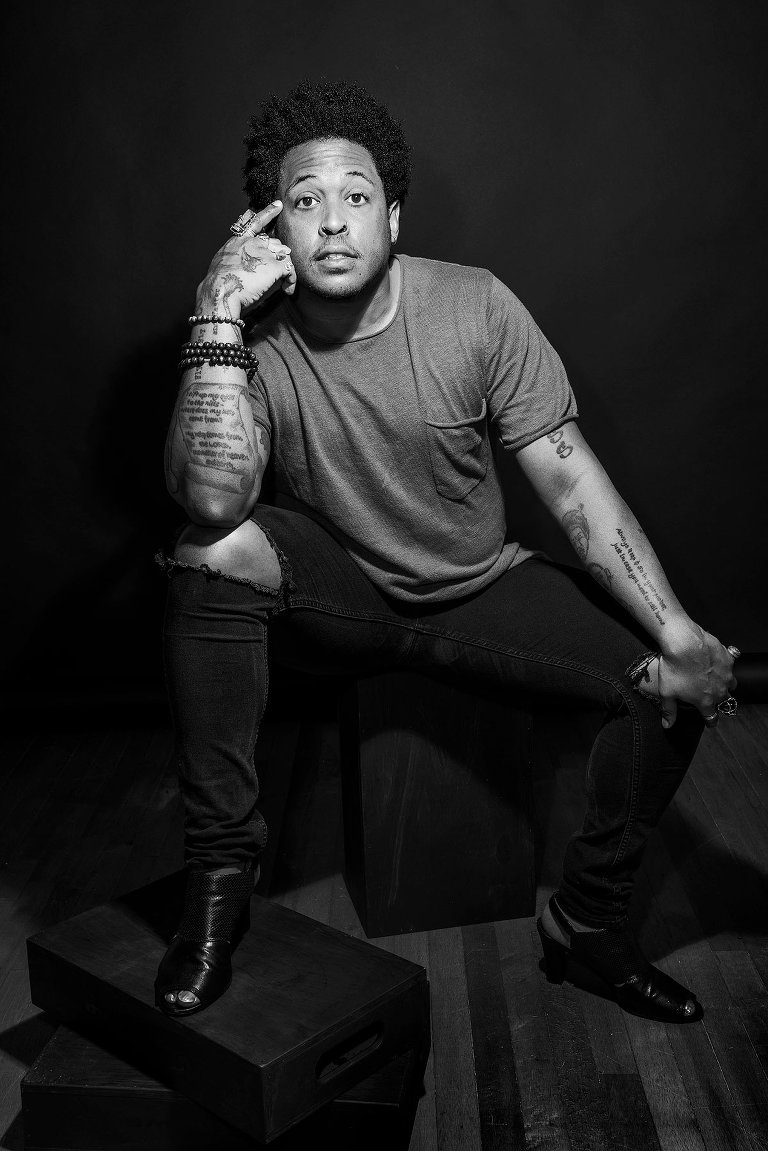 Danez Smith - by Brent Dundore